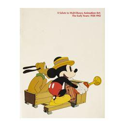 Walt Disney Animation Art Multi-Signed Guide.