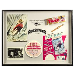 The Rocketeer Marketing Department Framed Display.