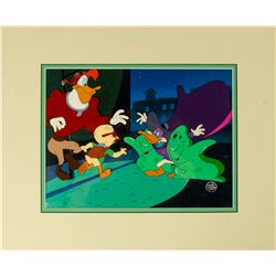 Original Darkwing Duck Production Cel.