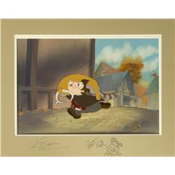 Beauty and the Beast Le Fou Cel & Background.