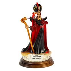 Jafar and Iago Capodimonte Sculpture.
