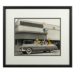Walt's Convertible Limited Edition Cel and Photograph.