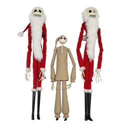 Set of (3) Jack Skellington Figures.