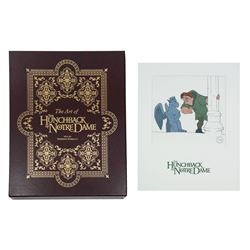 The Art of The Hunchback of Notre Dame Signed Book.