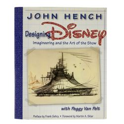 John Hench Designing Disney First Edition Hardcover.