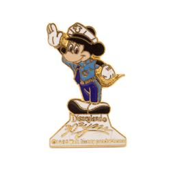 Mickey Mouse Disneyland Security Guard Pin.