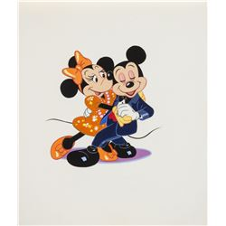 Original Mickey & Minnie Dancing Painting.