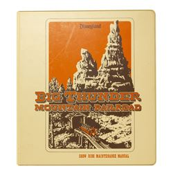 Big Thunder Mountain R.R. Maintenance Binder.