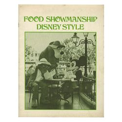 Food Showmanship Disney Style Cast Member Manual.