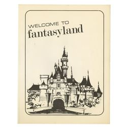 Welcome to Fantasyland Cast Member Manual.