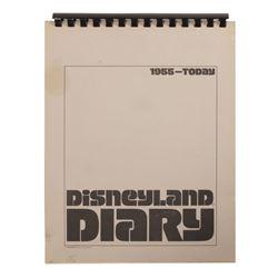Cast Member Disneyland Diary Booklet.