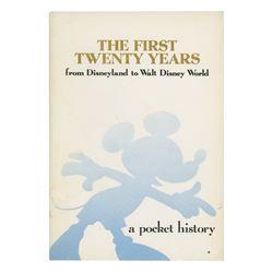 The First Twenty Years Disneyland & WDW Booklet.