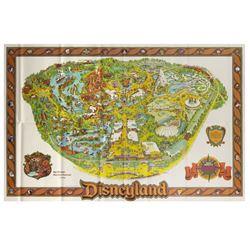 1978 Disneyland Souvenir Map.
