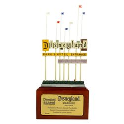 Disneyland Marquee Limited Edition by Olszewski.