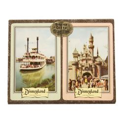Boxed Set of Disneyland Playing Cards.