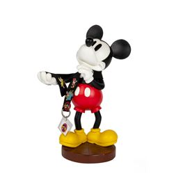 Pin Trader Mickey Mouse Sculpture.