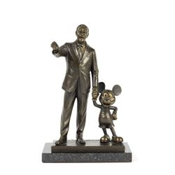 "Limited Edition ""Partners"" Bronze Sculpture."