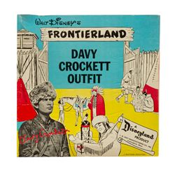Frontierland Davy Crockett Outfit in Box.
