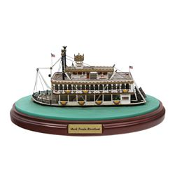 Mark Twain River Boat Model by Olszewski.