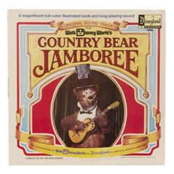Country Bear Jamboree Book and Record.