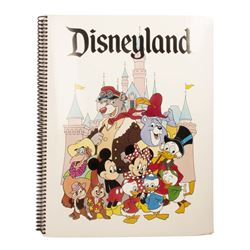 Splash Mountain & Critter Country Press Folder.