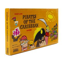 Pirates of the Caribbean Board Game.