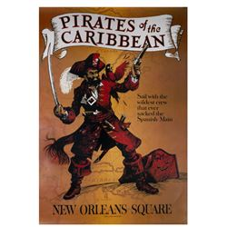 Disney Gallery Pirates Attraction Poster.