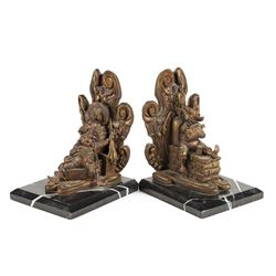 Pirates of the Caribbean Limited Edition Bookends.