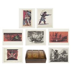 Marc Davis Pirates of the Caribbean Lithograph Set.