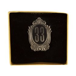 Club 33 Limited Edition Pin.