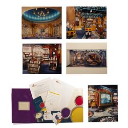 Disney Gallery Printer's Proof Poster & Press Kit.