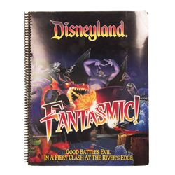 Fantasmic! & Mickey's Toontown Press Folder.