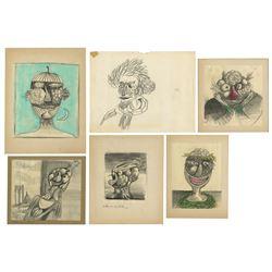 Haunted Mansion Changing Portrait Artwork by Ed Kohn.
