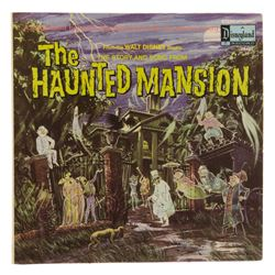 The Haunted Mansion Souvenir Story Record.