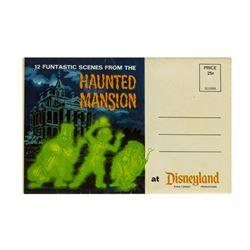 Haunted Mansion Souvenir Photo Mailer.