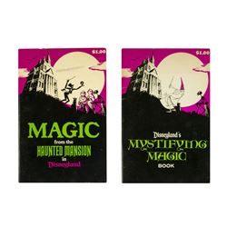 Pair of Magic from the Haunted Mansion Books.