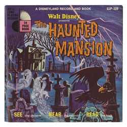 The Haunted Mansion Record & Book.