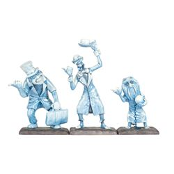 Haunted Mansion Hitchhiking Ghosts WDCC Set.