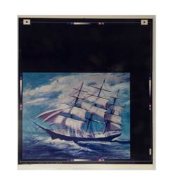 Haunted Mansion Ghost Ship Uncut Lenticular Photo.