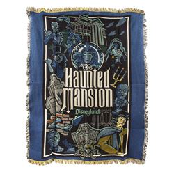 Haunted Mansion Large Throw Blanket.