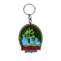 Haunted Mansion 35th Anniversary Keychain.