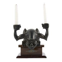 Haunted Mansion Limited Ed. Gargoyle Candle Holder.
