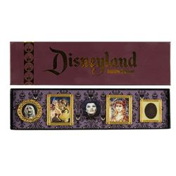 Haunted Mansion Limited Edition Lenticular Pin Set.