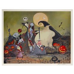 Nightmare Before Christmas This Is Halloween Print.