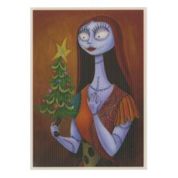 The Nightmare Before Christmas Lenticular Bonus Gift.