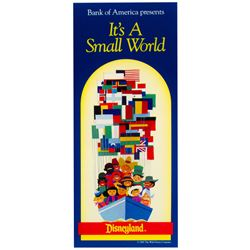 It's a Small World Bank of America Brochure.