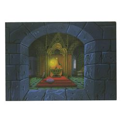 Sleeping Beauty Castle Walkthrough Signed Postcard.