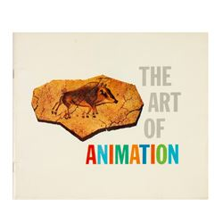 """The Art of Animation"" Book Signed by Eyvind Earle."