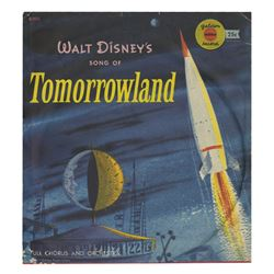 Walt Disney's Song of Tomorrowland Record.