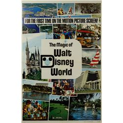 The Magic of Walt Disney World One Sheet Poster.